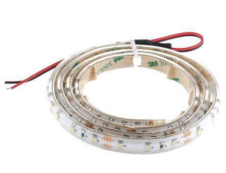 RS PRO White LED Strip 1m 12V