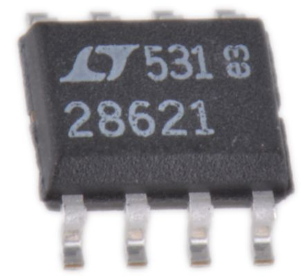 Analog Devices LTC2862IS8-1#PBF, Multiprotocol Transceiver, RS-422/ RS-485, 1 (RS-485/RS-422)-TX 1 (RS-485/RS-422)-RX 1