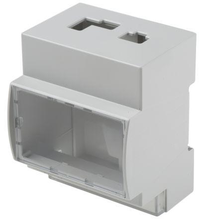 Italtronic Modulbox Arduino Case for use with Arduino YUN, Transparent