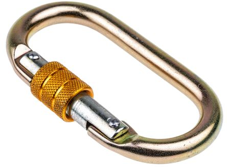Steel Screw Gate Karabiner