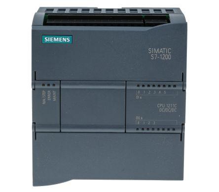 6ES7211-1AE40-0XB0   Siemens S7-1200 SPS CPU, 24 V dc, 10 I/O Ports ...