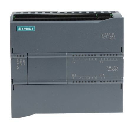 Siemens S7-1200 PLC CPU, Ethernet Networking Profinet Interface, 75 kB Program Capacity