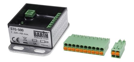 BARTH STG-500 Logic Control COM, RS232 Communication 2 Port, 5 x Input, 5 x Output, 7 → 32 V dc Supply Voltage