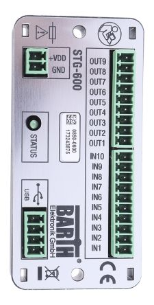 BARTH STA-600 Logic Module Starter Kit COM, USB Communication 1 Port, 10 x Input, 8 x Output