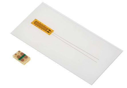 RS PRO Wire Lead Strain Gauge 4mm, 120Ω -30°C +180°C