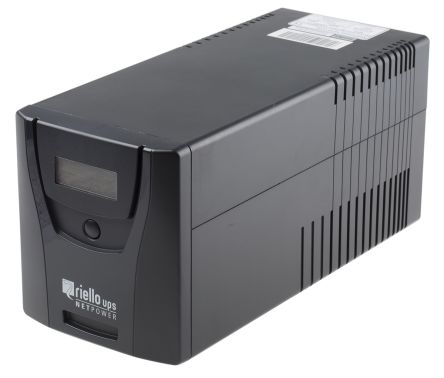 npw 1000 riello riello net power 1000va ups uninterruptible powernpw 1000 riello riello net power 1000va ups uninterruptible power supply, 230v ac output, 600w 869 4997 rs components