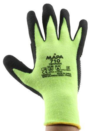 Heat Resistant Gloves,Nitrile,Ylw,7,PR TEMP-DEX 710
