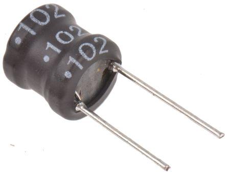 1 mH ±10% Ferrite DR Radial Inductor, Max SRF:1.6MHz, Q:40, 310mA Idc, 1.3O Rdc RLB product photo