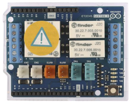 Arduino 4 relay shield
