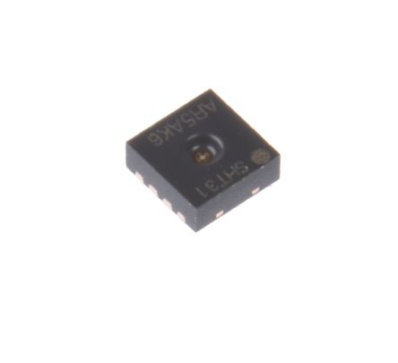 Sensirion SHT31-ARP-B, Temperature & Humidity Sensor -40 → +125 °C ±0.3 °C, ±2 %RH Analogue DFN, 8-Pin