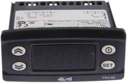 Eliwell Zweipunkt Temperaturregler, NTC, PTC, 50°C bis +110°C, 12 V, Tafelmontage