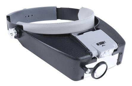 RS PRO Headband Magnifier - 1.5, 10.5, 3.0, 9.0 x