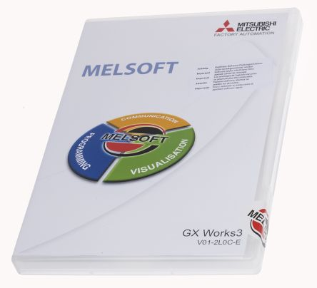 GX Works3 V01-2L0C-E | Mitsubishi PLC Programming Software