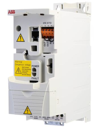 ABB Inverter Drive, 3-Phase In, 0 → 600Hz Out 1.5 kW, 400 V with on