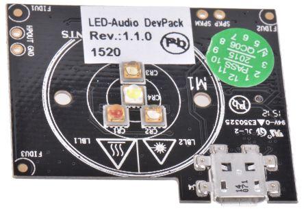 DEVPACK-LED-AUDIO, DevPack LED Evaluation Kit for SimpleLink SensorTag product photo