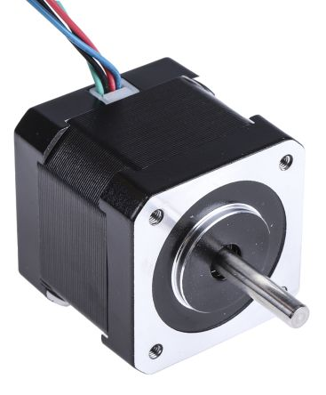 RS Pro Hybrid, Permanent Magnet Stepper Motor 1.8°, 0.36nm, 2.8 V, 1.68 A, 4 Wires