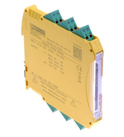 PSRmini PSR-MC Safety Relay; Dual Channel; 24 V dc; 3 Safety; 3 Auxiliary