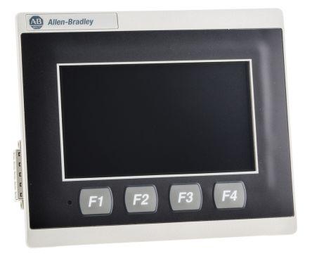 Allen Bradley PanelView 800 Touch Screen HMI 4 in LCD, TFT 480 x 272pixels