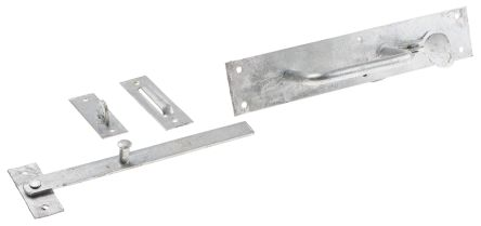 Steel Suffolk Latch with Galvanised Finish product photo