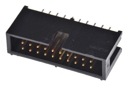 Hirose, HIF3F, 20 Way, 2 Row, Straight PCB Header