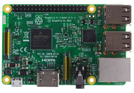 Raspberry Pi, Computerkort med ARM Cortex-A53, Raspberry Pi 3 model B