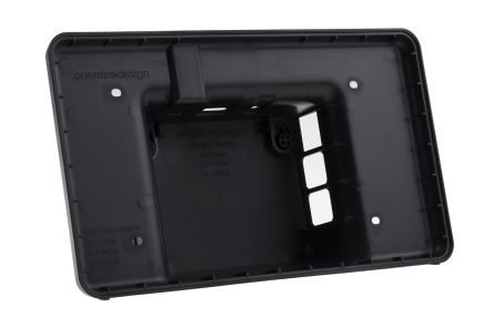 DesignSpark Raspberry Pi Case for use with Raspberry Pi LCD Touch Screen, Raspberry Pi, Black