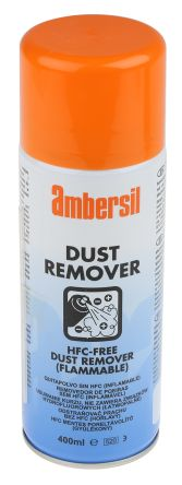 Ambersil 32504-AB High Powered Dust Remover Air Duster, 400 ml, Flammable