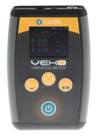 Castle Vibration Meter 0.005 → 204 g