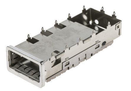 Single Port Straight Cage, Solder Termination product photo