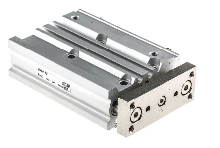 SMC Pneumatic Guided Cylinder 12mm Bore, 50mm Stroke, MGP-Z Series, Double Acting