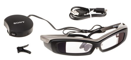 Sony SED-E1/EU, Smart Eyeglass - Europe Wearable Display Demonstration Kit