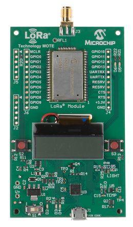 Microchip LoRa Mote LoRa Development Board for RN2483