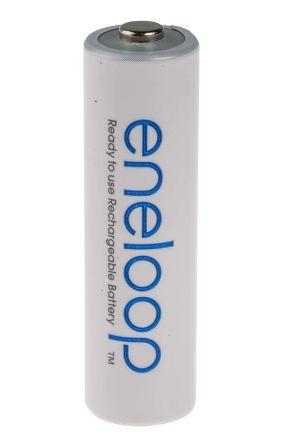 Panasonic eneloop Precharged NiMH Rechargeable AA Batteries,