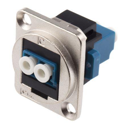 RS PRO LC Single Mode Duplex Fibre Optic Connector