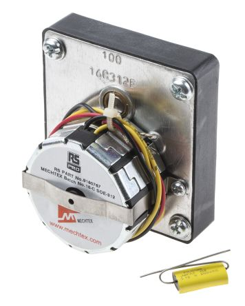 Mtr4bgb4 100 1 rs pro rs pro synchronous ac geared for Gear motor 500 rpm