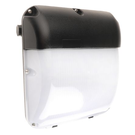RS PRO, 30 W Square Natural LED Bulkhead Light Wall Mount, Opal, Die Cast Aluminium, IP65, with White Diffuser, , Lamp