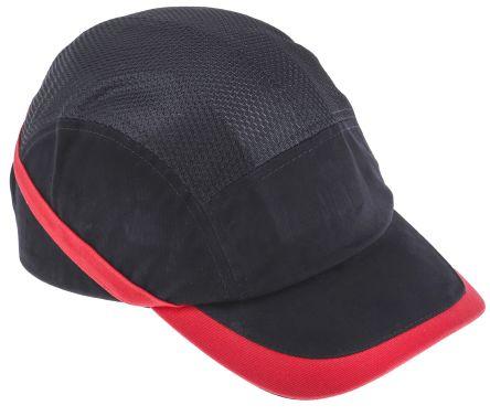 Cotton ABS Black Standard Peak Bump Cap product photo