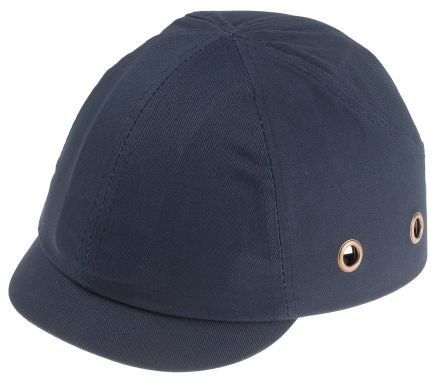 RS PRO Navy Short Peaked Bump Cap, ABS Protective Material