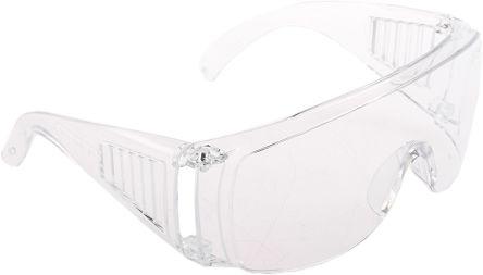 Eye Protective Safety Glasses Side Shields Steel Frame Anti-Scratch Anti-UV