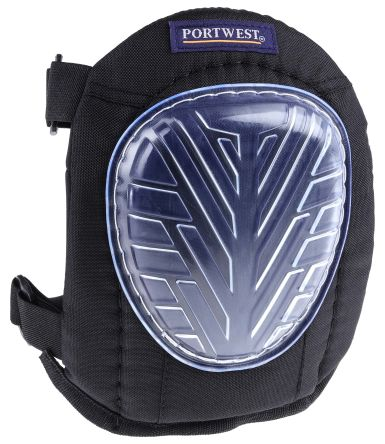 RS PRO Black EVA Foam Adjustable Strap Knee Pad Resistant to Abrasion, Penetration
