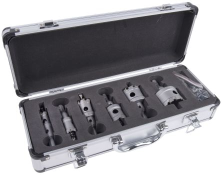 RS PRO Tungsten Carbide Tipped16 → 51mmHole Saw Set