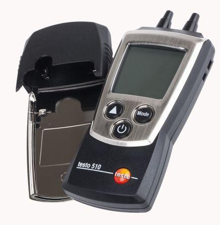Testo Testo 510 Differential Manometer With 2 Pressure Port/s, Max Pressure Measurement 40.15 inH2O, 100 hPa