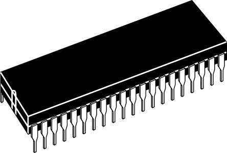 AY0438/P, LCD Driver, 4-Digits 32-Segments, 3 → 8.5 V, 40-Pin PDIP