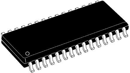 Texas Instruments, TLV320AIC12KIDBT 16bit- Audio Codec IC 30-Pin TSSOP