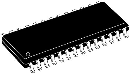 Analog Devices AD9220ARZ, 12-bit Parallel ADC Differential, Single Ended Input, 28-Pin SOIC W