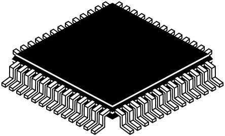 NJU3427FH2, Vacuum Fluorescent Display Filament Driver, 5 V, 52-Pin LQFP