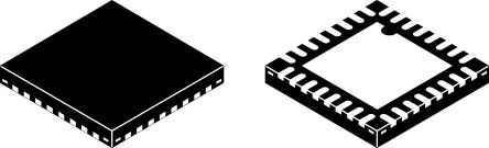 PAM8620TR DiodesZetex, 2-Channel Audio Amplifier, 25-Pin QFN