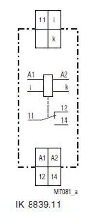 IK8839 11 1A max  20A AC220-240V Dold | Dold Current