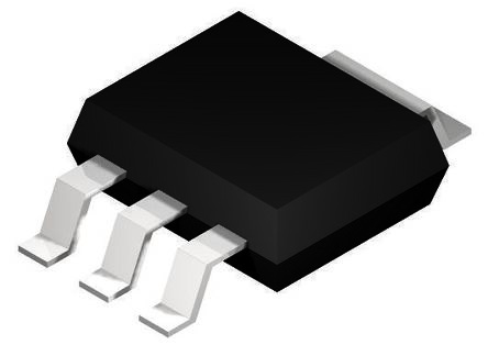 DiodesZetex ZXMS6004SGTA, 1-Channel Intelligent Power Switch, Low Side, 1.3A, 0 → 5.5V 3 + Tab-Pin, SOT-223