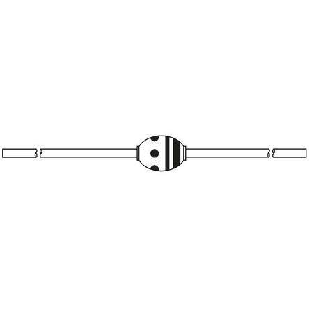 Hitachi 400V 1.1A, Diode, 2-Pin V08E on
